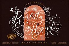 Roslitta Aganta - Beautiful Script Font Product Image 1