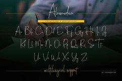 Alessandria Signature Font Product Image 10