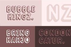 Web Font Bublaso Product Image 2