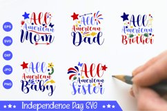 Independence Day SVG Product Image 1