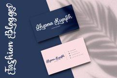 Bulgaria - Modern Calligraphy Font Product Image 4