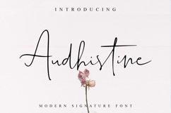 Audhistine Font Product Image 1