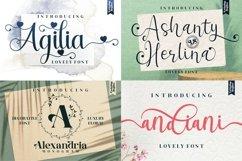 Best Seller - Mega Bundle 100 Fonts Product Image 9