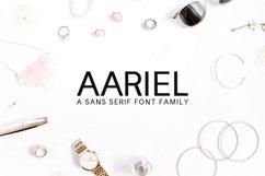 Aariel Sans Serif 7 Font Family Pack Product Image 1
