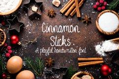 Cinnamon Sticks Handwritten Font Product Image 1