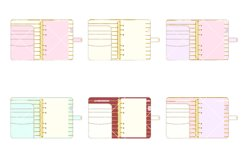 Planner Binder Clipart 2 Product Image 4