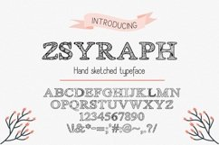 Zsyraph Font Product Image 1