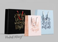 Handlettered Holiday Product Image 2