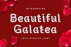 Web Font Beautiful Galatea Font Product Image 1