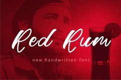 Web Font Red Rum Product Image 1