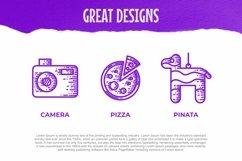 Web Font Party Dingbats Font Product Image 3