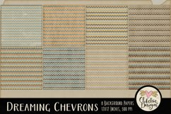 Dreaming Chevron Beachy Background Textures Product Image 5