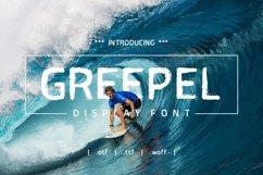 Greepel Grunge Font Product Image 1