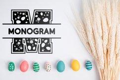 Easter Split Monogram Font Product Image 3