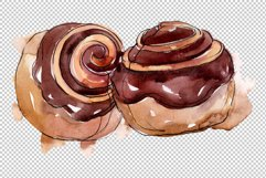 Dessert Appetizing Watercolor png Product Image 3