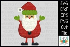 Toy Santa Claus SVG 11223 Product Image 1
