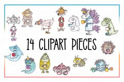 Coffee Clipart, Sublimation, Zombie, Mombie, PNG, Unicorn Product Image 3