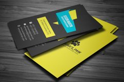 Stylish Modern Business Card Template Design Product Image 4