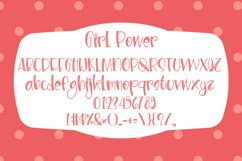 Girl Power - Cute Display Font Product Image 4