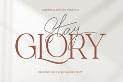 Stay Glory Font Duo Product Image 1