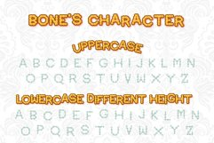 Bone Halloween Font Outline Product Image 5