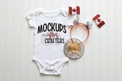 MOCK-UP BUNDLE CANADIAN THEME - BABY BODYSUITS, T-SHIRTS Product Image 5