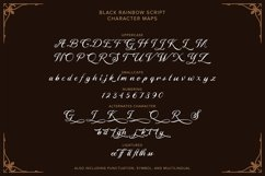 Black Rainbow | Font Duo Vintage Serif and Script Product Image 4
