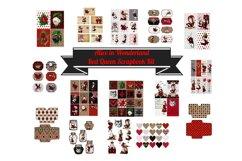 Alice in Wonderland Journal or Scrapbook Kit PDF Product Image 1