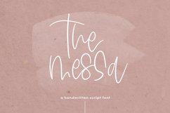 The Messa - A Handwritten Script Font Product Image 1