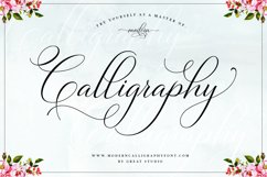 Bettrisia Script - Elegant Calligraphy Font Product Image 2