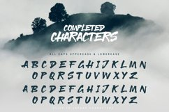 Readow Brush Font with Free Vector Pack Product Image 4