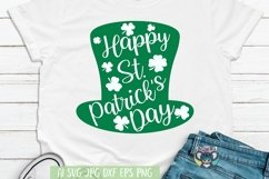 St Patrick's Day svg, Clover svg, Shamrock svg, Cricut Files Product Image 1