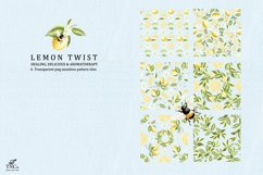 Lemon Twist Graphic Illustrations and patterns Product Image 6