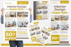 Interior Design #02 Print Templates Pack Product Image 1