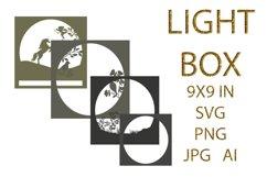 light Box SVG, Shadow Box, UNICORN Product Image 3