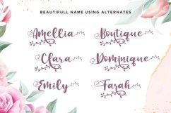 Botanical Flourish a Natural Handwritten Font Product Image 4
