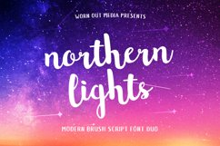 Northern Lights Script Font Duo Product Image 1