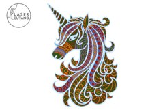 Multilayer Cut File UNICORN for Cricut or Wood Laser Cutting Product Image 3
