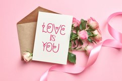 Charmel Love font. Valentine's Day Font. Lovely Heart font. Product Image 6