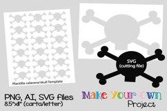 Skull SVG shape Product Image 1