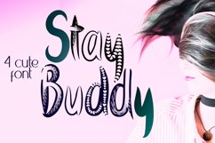 Stay Buddy Quirky Family Font Product Image 1