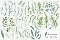 Watercolor herbs. Clipart collection Product Image 5