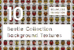 10 Beetle Collection Backgrounds Product Image 1