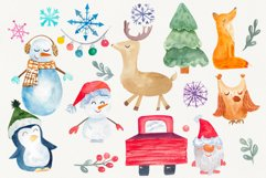 Holiday christmas clip art Product Image 1
