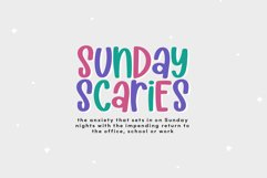 Sunday Scaries - A Fun Handwritten Font Product Image 6