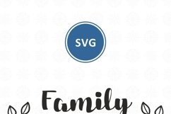 Family makes this house a home svg dxf Family Quote clipart Product Image 5