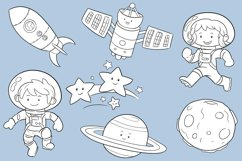 Space Kids Science Digital Stamps Product Image 3
