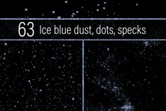 Ice Blue Dust, Dots and Specks Product Image 1