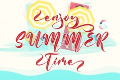 With Summer // Script Font - WEB FONT Product Image 5