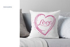 Heart Love SVG. Valentine SVG. love svg. Product Image 6